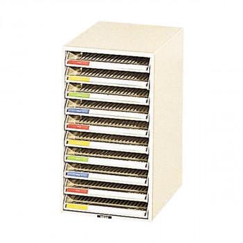 オープン 書類ケース 258×341×452 1列 A4C-10Nお得 な 送料無料 人気 トレンド 雑貨 おしゃれ