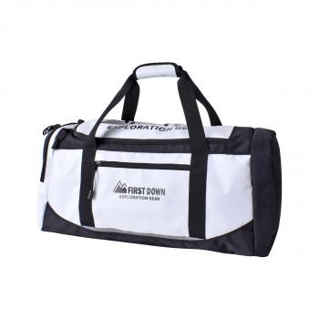 2WAYボストンバッグ ブラックホワイト 33022お得 な全国一律 送料無料 日用品 便利 ユニーク