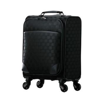 スーツケース Checked Pattern Soft 21L 90350 ブラック人気 お得な送料無料 おすすめ 流行 生活 雑貨