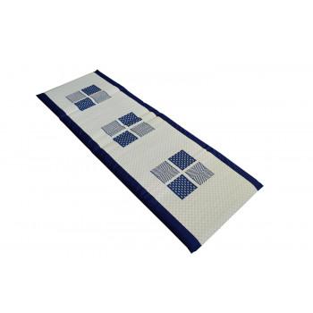 い草 マットレス 緑茶染 健美草 紋織 祇園 ブルー 60×180cm人気 お得な送料無料 おすすめ 流行 生活 雑貨