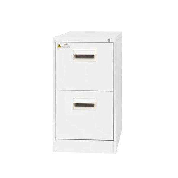 便利雑貨 SEIKO FAMILY(生興) A4サイズ2段デスクサイド(D620) ファイリングキャビネット A4-2NCW(17185)