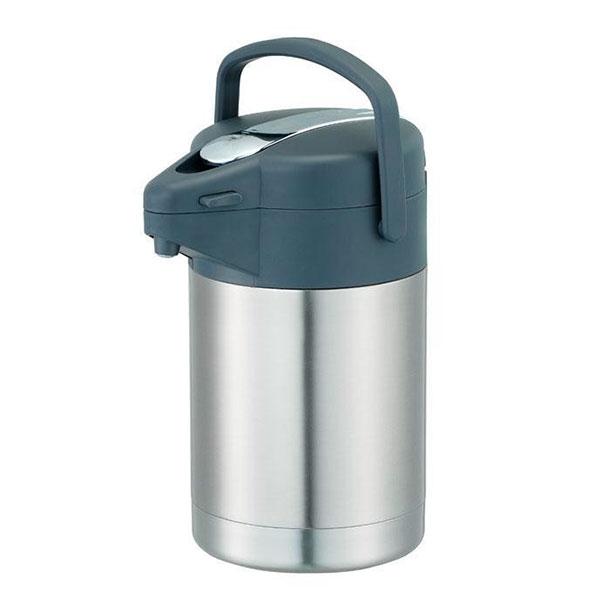容器・ストッカー・調味料容器 スゴ楽 レバー式ステンレスエアーポット 3.0L AHL-30