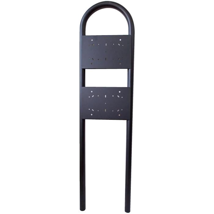 日用品 便利 ユニーク KGY ポスト用スタンド マイスタンド Z-2 自立式(2世帯)