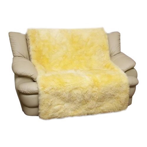 便利雑貨 ムートン椅子カバー 100×160cm MG7100