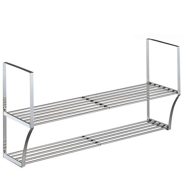 キッチン収納 TAKUBO タクボ 水切棚シリーズ ネジ止めタイプ パイプ棚 Aタイプ 2段 PA2-180