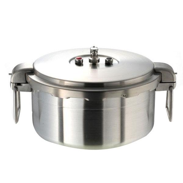 便利雑貨 ワンダーシェフBIG SIZE プロビッグ2 業務用浅型圧力鍋16L 610201