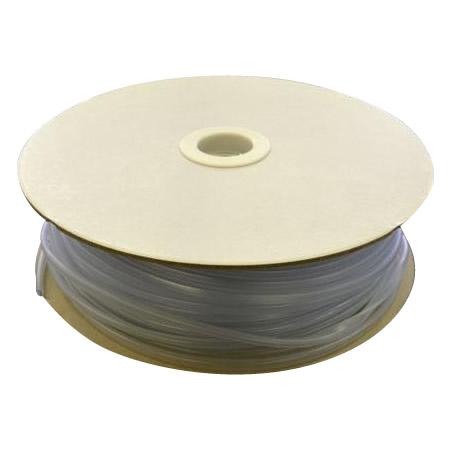 トレンド 雑貨 おしゃれ 光 (HIKARI) エンビUパッキンドラム巻 透明 3.4×6.7mm 1mm用 KVC1-100W 100m