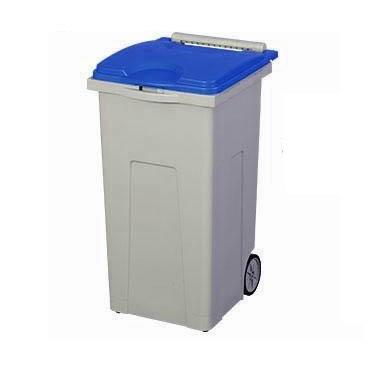 家事用品 三甲 サンコー サンクリーンボックス SCB-Pシリーズ 4輪キャスター付きごみ箱 SCB90P フタ:ブルー 611010-01