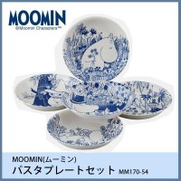 お役立ちグッズ MOOMIN(ムーミン) パスタプレートセット MM170-54