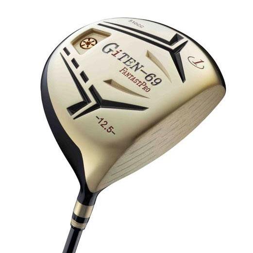 便利雑貨 ファンタストプロ GiTEN-69 ドライバー ゴルフクラブ シャフト硬度R