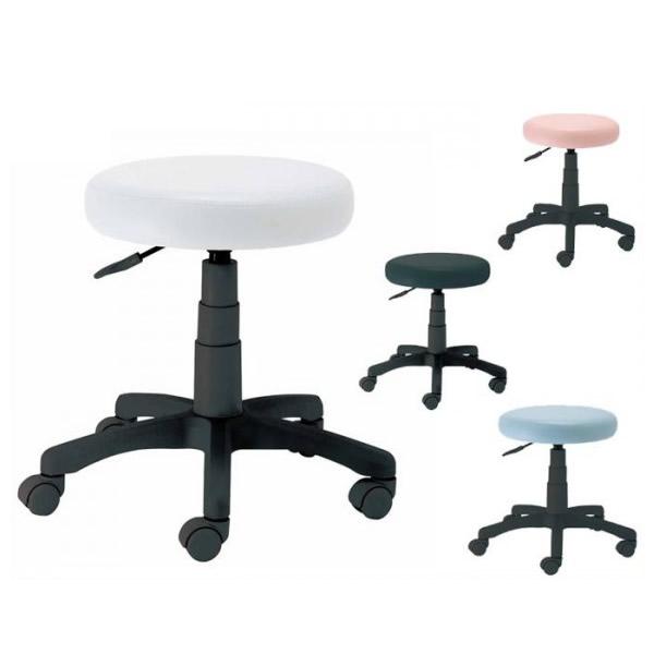 家具 イス テーブル ナカバヤシ ラウンドOAチェア RZR-112 (BK)ブラック