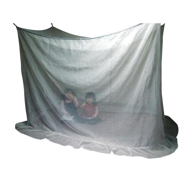 お役立ちグッズ 新越前蚊帳 和式2人用 EKW2-01