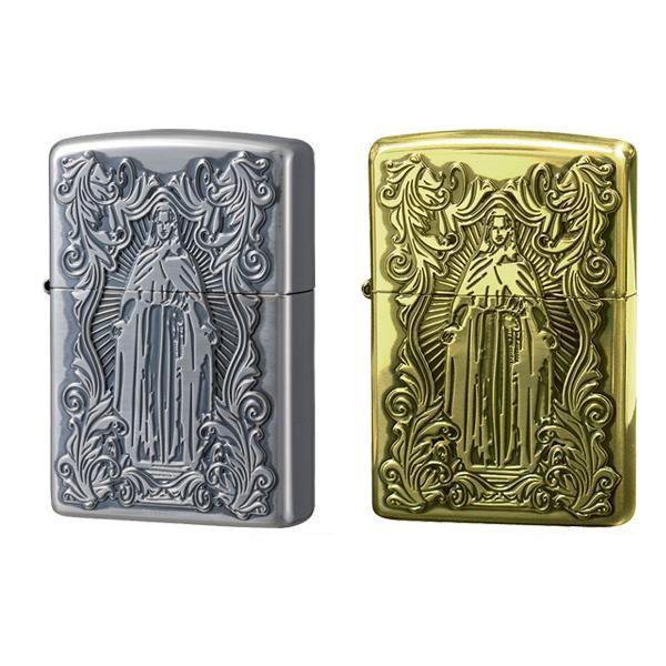 ZIPPO(ジッポー) ライター ディープエッチング アラベスクマリア 真鍮いぶし・63200598人気 お得な送料無料 おすすめ 流行 生活 雑貨