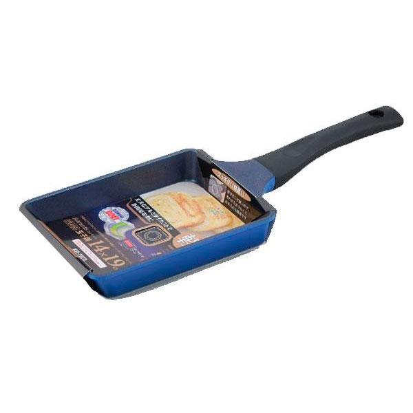 鍋(パン) IH対応 玉子焼 14×19cm KR-7878(1023386)