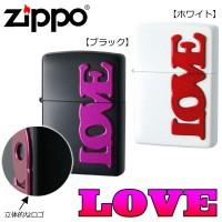 便利雑貨 ZIPPO(ジッポー) ライター LOVE ブラック・63330198