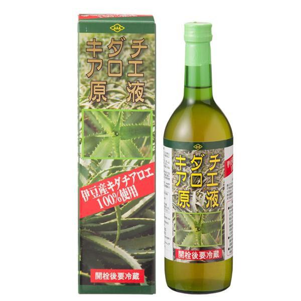 便利雑貨 国産 キダチアロエ原液 720ml 1ケース(12本入)