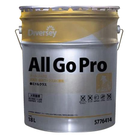 掃除関連 オールゴープロ(業務用床用ワックスはく離剤) 18L