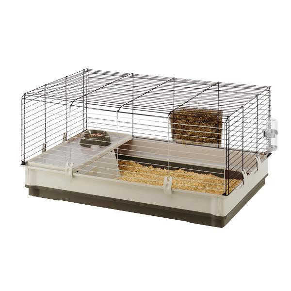 動物 ウサギ用ケージセット クロリック ラージ レッド・57070570