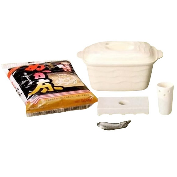 家事用品 ホワイトミニぬか漬鉢セット 34-56-09
