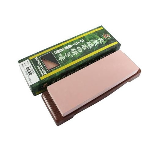 お役立ちグッズ 日本製 スーパー砥石(ニューセラミックス) 台付 粒度:S3000 IN-2230
