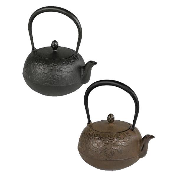 便利雑貨 鉄瓶 瑞光 約1.0L 茶