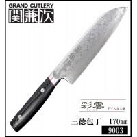 家事用品 日本製 三徳包丁 170mm 9003