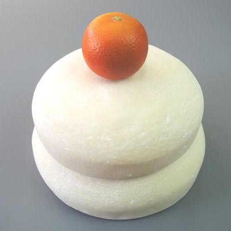 トレンド 雑貨 おしゃれ 日本職人が作る 食品サンプル 鏡餅 2升5合 IP-176