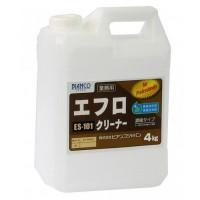 掃除関連 エフロクリーナー ポリ容器 4kg ES-101