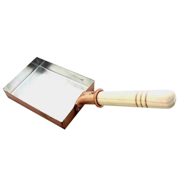 鍋(パン) 銅製 卵焼き鍋 長形 12cm