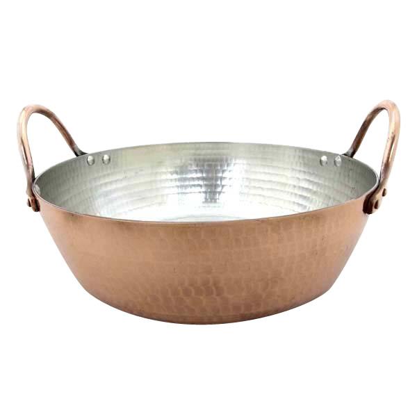 家事用品 銅製 天ぷら鍋 26cm