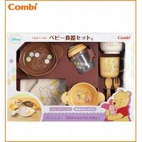 ベビー/シルバー Combi(コンビ) くまのプーさん ベビー食器セットC