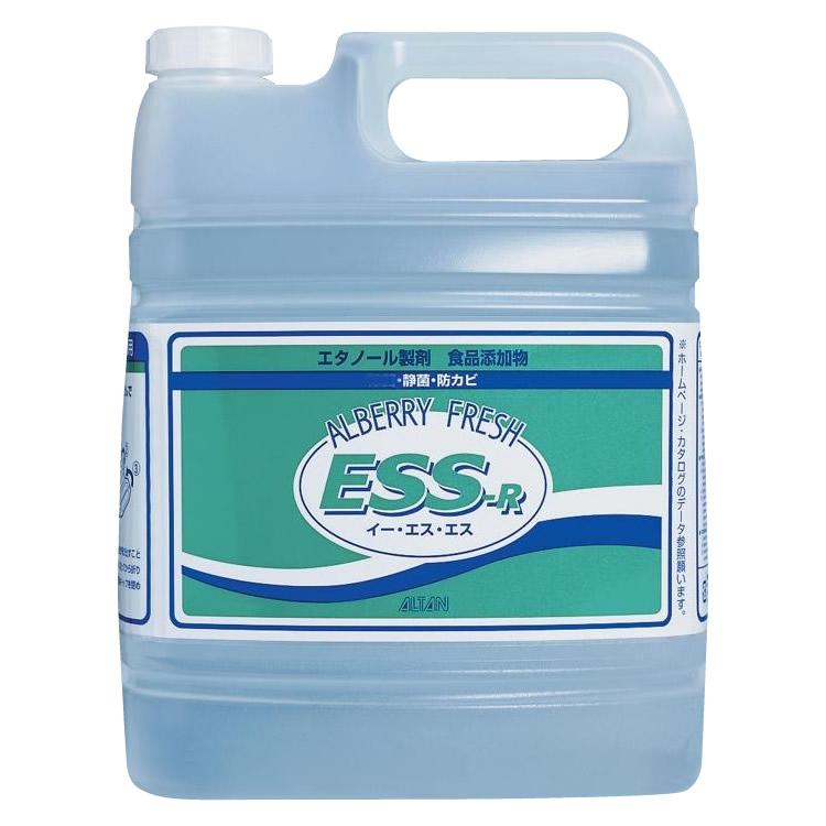 便利雑貨 アルタン エタノール製剤・食品添加物 アルベリーフレッシュESS-R 4.8L 2個セット 120
