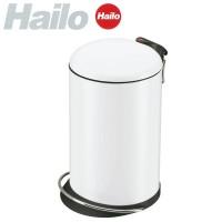 家事用品 ハイロ ペダルビン トレントトップデザイン16L ホワイト 60057