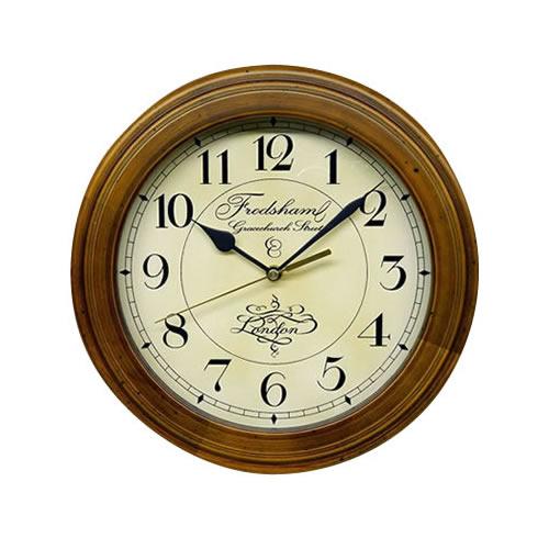 便利雑貨 DQL711 レトロ電波時計(アンティーク電波掛け時計)