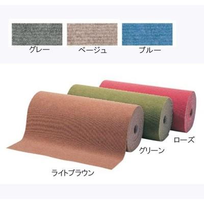 絨毯 日本製 快適 暮らし パンチカーペット ロールタイプ ループパンチ ベージュ