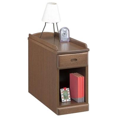 食卓 机 おしゃれで便利なテーブルです。 生活 便利 スリムナイトテーブル25(OP) ナチュラル