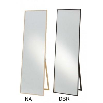 かがみ おしゃれで使い勝手の良い鏡です。 快適 暮らし タイトスタイルミラー(ワイド) M-1619 DBR