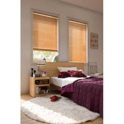 カーテン 木の温もりと心地よい空間をお届けします。 家具 おしゃれ ウッドブラインドN35 規格品88cm×108cm TW-4515ウォールナット