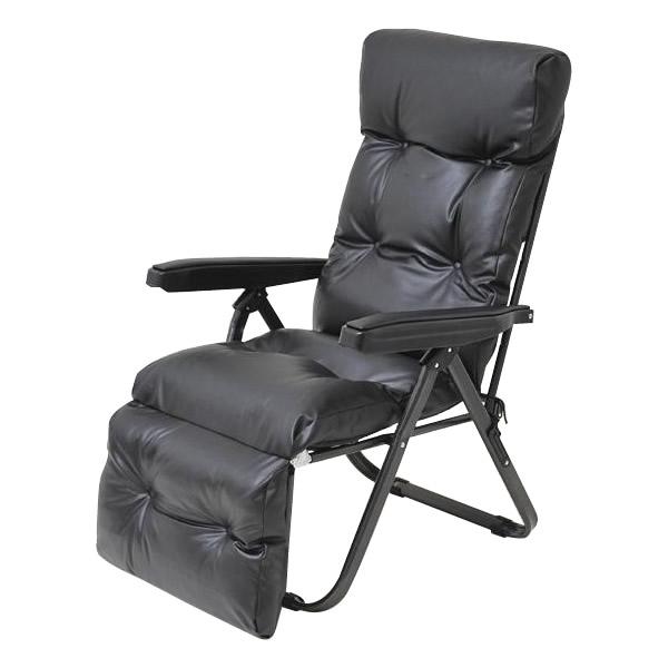 家具/収納 フットレスト付 リクライニングチェア TAN-666