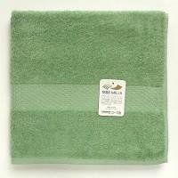 便利雑貨 レジェンド バスタオル 約60×120cm グリーン 12枚セット 29406912