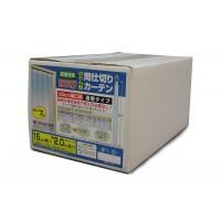 のれん型間仕切りカーテン 透明(0.8mm厚) 7枚 B-351お得 な全国一律 送料無料 日用品 便利 ユニーク