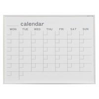 文具・玩具 馬印 MR series(エムアールシリーズ)壁掛 予定表(カレンダー)ホワイトボード W610×H460mm MR2W