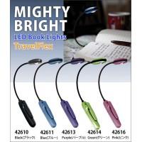 0ed79ab9b49a アメリカ MIGHTY BRIGHT マイティブライト TravelFlex トラベルフレックス LEDブックライト 42614・Green(グリーン