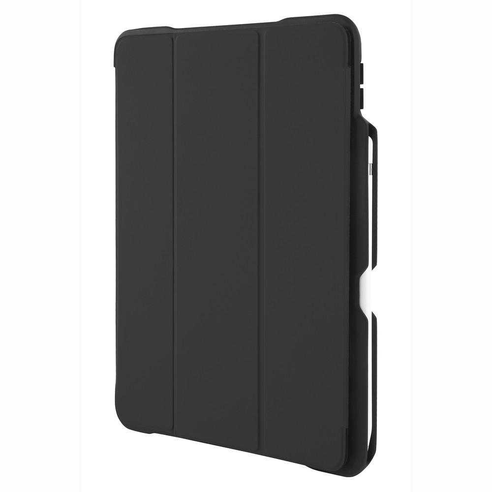 □便利雑貨 □SHELL iPad Pro(10.5インチ)用 耐衝撃ケース ブラック stm-222-163JV-01