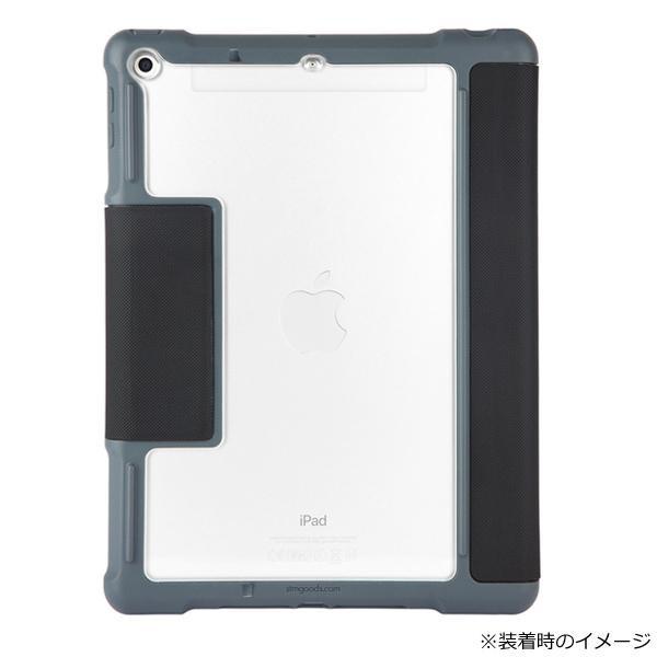 □便利雑貨 □Plus iPad(第5世代/第6世代)用 耐衝撃ケース ブラック stm-222-190JW-01