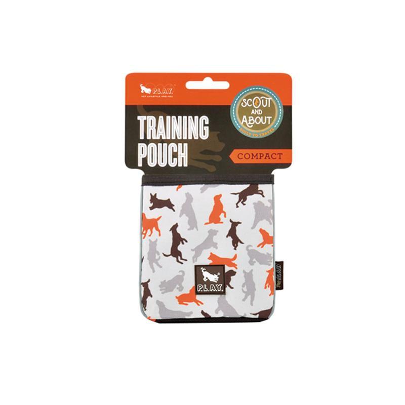 ペット用品関連 P.L.A.Y アウトドアシリーズ トレーニングポーチ コンパクト バニラ