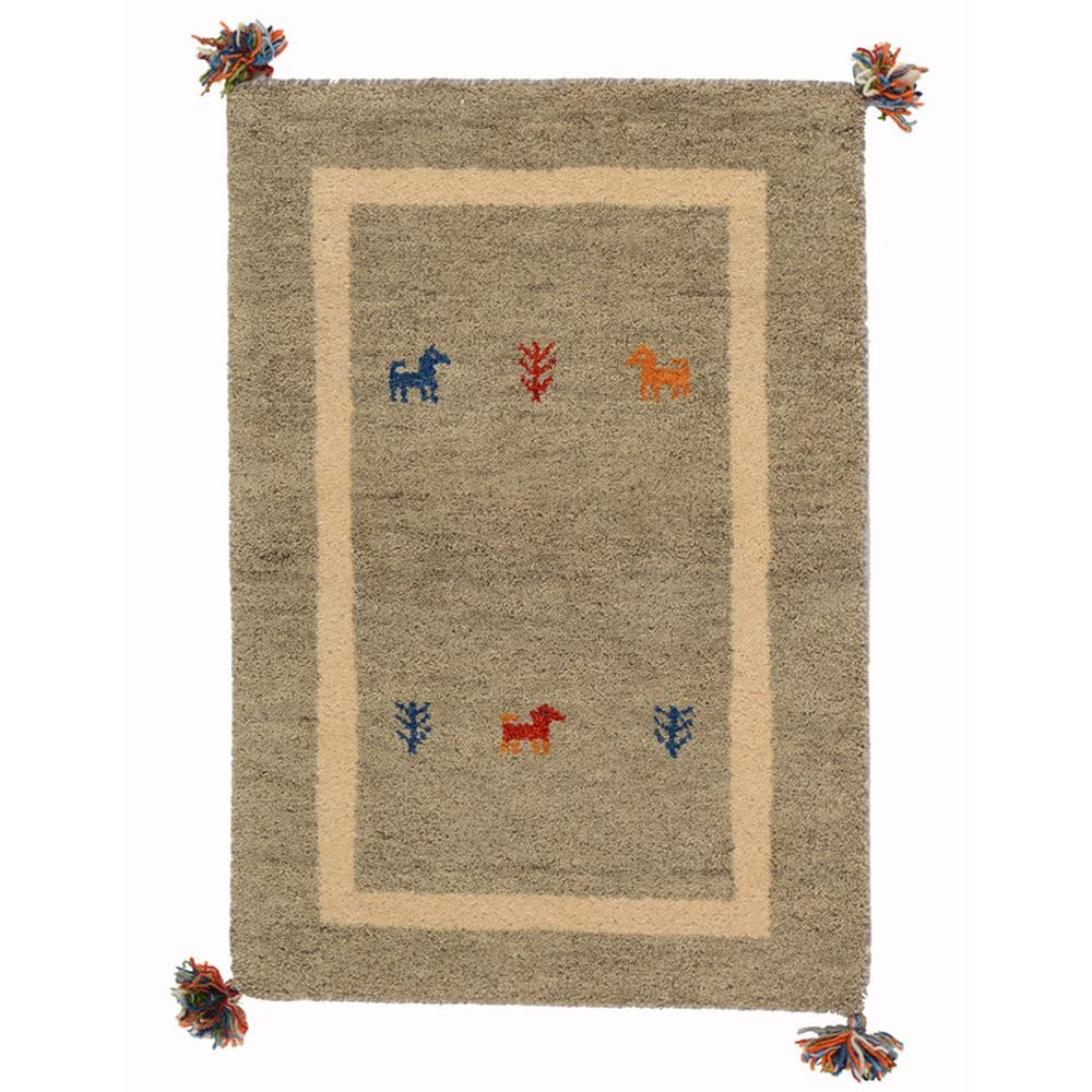 流行 生活 雑貨 じゅうたん ラグ カーペット マット 絨毯 D18 約60×90cm GY 270034429