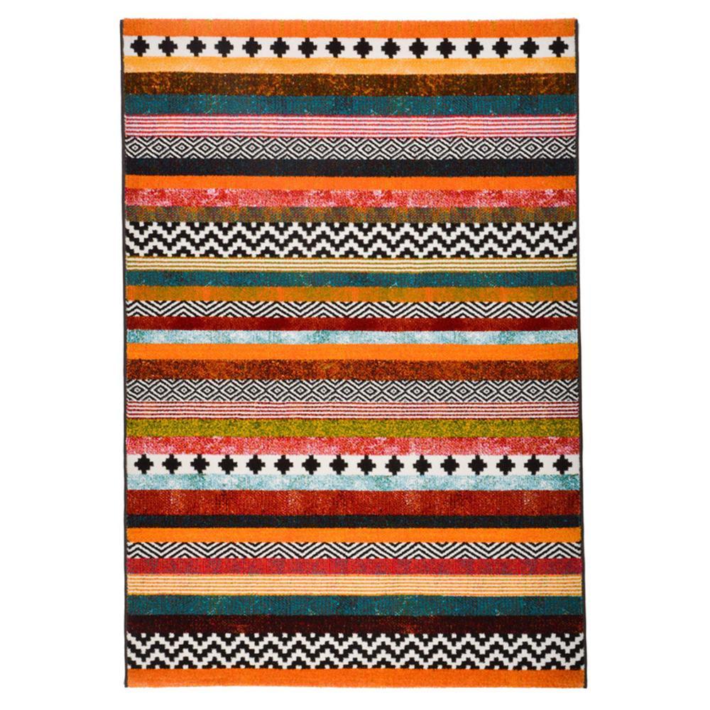 流行 生活 雑貨 ウィルトン織 ラグ カーペット じゅうたん PANDRA ボーダー 約160×230cm 240610810