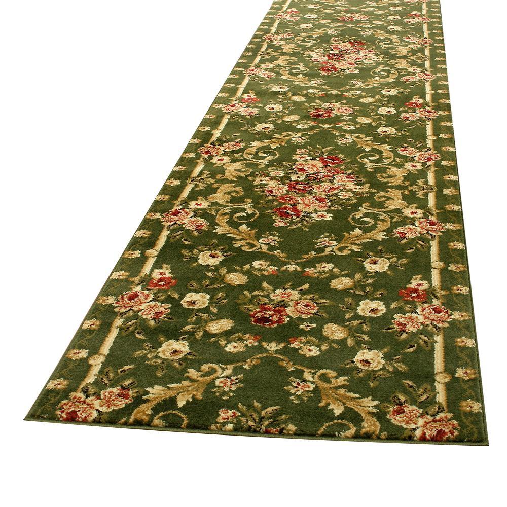 流行 生活 雑貨 ウィルトン織 ラグ カーペット じゅうたん 廊下敷き ロゼ 約80×440cm GR 270043546