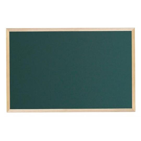 文具・玩具 木枠ボード スチールグリーン黒板 900×600mm WOS23